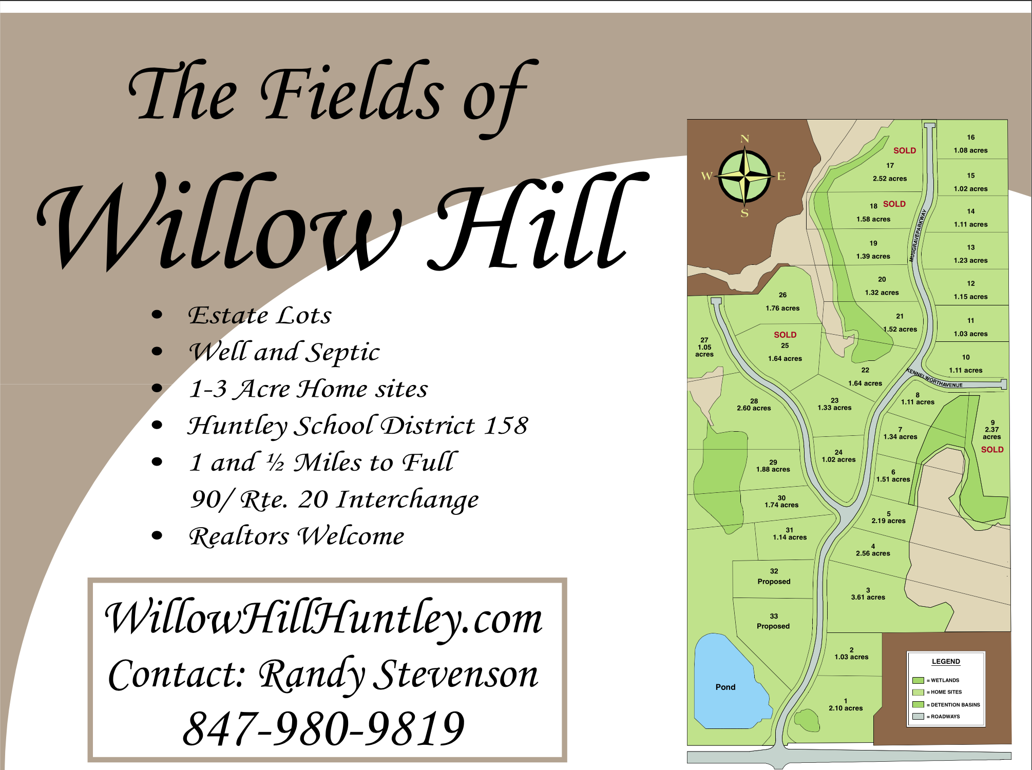 Hampshire Illinois Map.Fields Of Willow Hill Map
